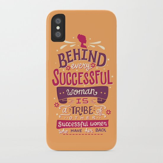 Successful women iPhone Case