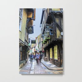 The Shambles, York Metal Print