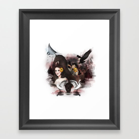 Animal Framed Art Print