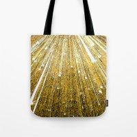 big bang Tote Bags featuring Big Bang by Foxxya