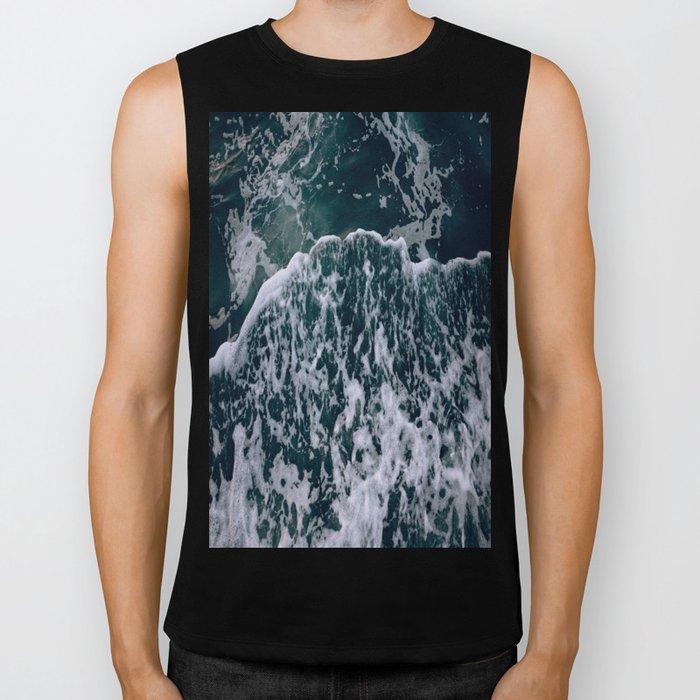 Waves and me Biker Tank