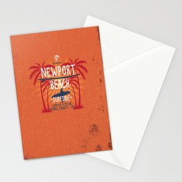 Newport Beach Surfside Stationery Cards