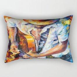 Music Love Guittar Rectangular Pillow
