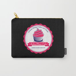 Andrea Marie Cakes-Black Carry-All Pouch