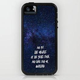 Invictus Quote iPhone Case