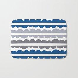 Mordidas Lapis Blue Bath Mat