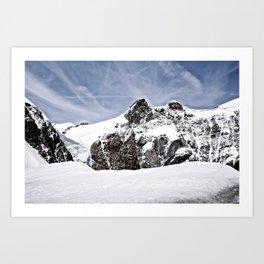 Alpine Journey Art Print