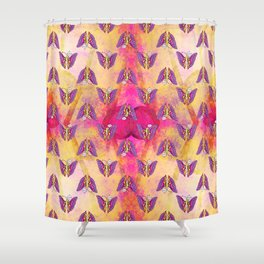 Coolorful Butterfly Shower Curtain