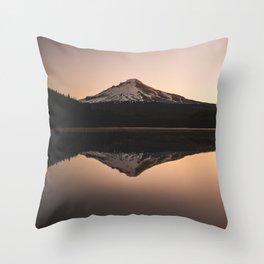 Oregon Mountain Adventure Throw Pillow