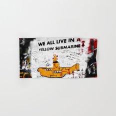 YELLOW SUBMARINE Hand & Bath Towel