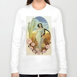 Goddess of the Sonoran Desert Long Sleeve T-shirt