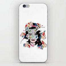 JuLiE RuiN!!! iPhone & iPod Skin