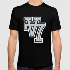 V7 SMALL Mens Fitted Tee Black