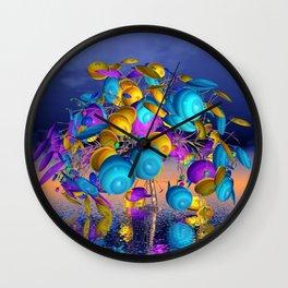 fancy tree -10- Wall Clock
