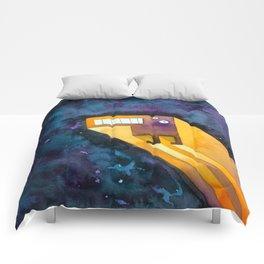 Tetris Monster Zooming Comforters