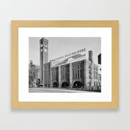 Grand Central Station, Chicago, Illinois.1963 Framed Art Print
