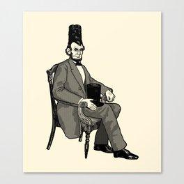 Hat Head Canvas Print