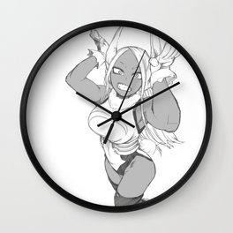 My Hero Academia Mirko cute Wall Clock