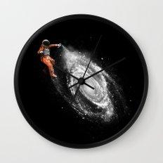 Space Art Wall Clock
