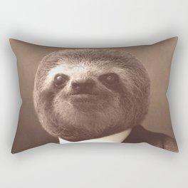 Gentleman Sloth #1 Rectangular Pillow