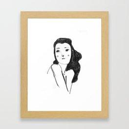 Femme No.1 Framed Art Print