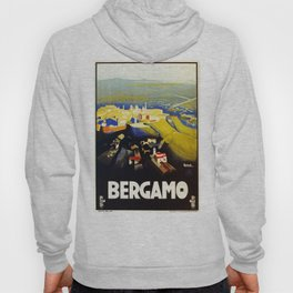 1920s Bergamo Italy travel Hoody