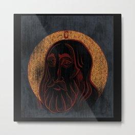 The Compassionate Christ Metal Print