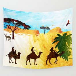 Camels Wall Tapestry