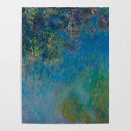 Claude Monet Wisteria Poster