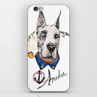 great dane iPhone & iPod Skins featuring Mr. Great Dane by dogooder