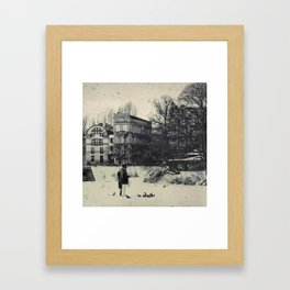 Winter's Coming Framed Art Print