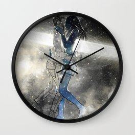 Deepest touch of souls. Wall Clock
