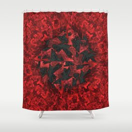Ravens and Crows Shower Curtain