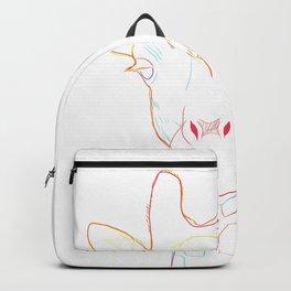 Giraffe Strokes Backpack