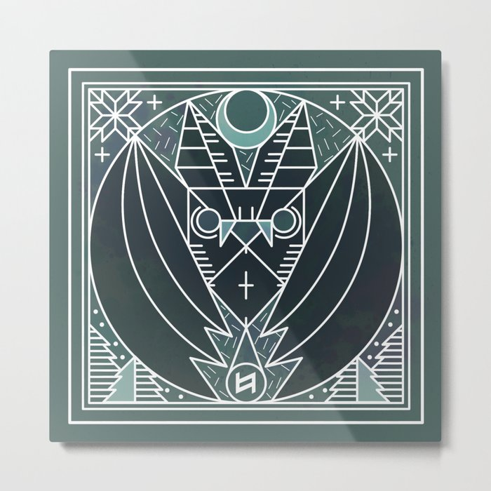 Bat from Transylvania Metal Print