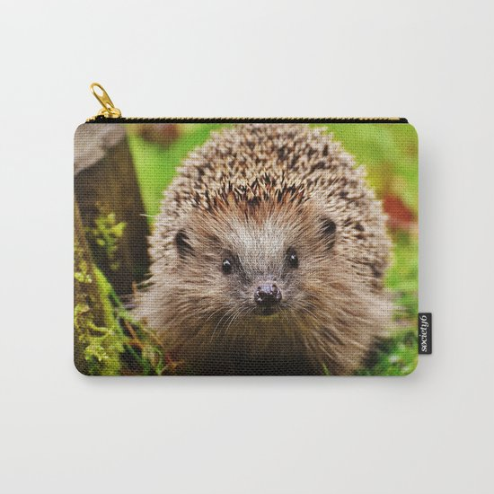 Cute Little Hedgehog Carry-All Pouch