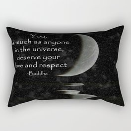 You, as much as anyone... Rectangular Pillow