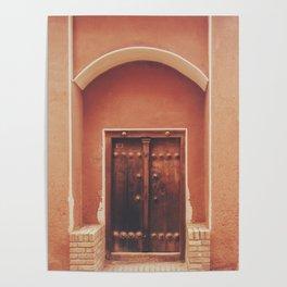 Abyaneh Door #2 (from the series 'Iranian Doors') Poster