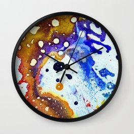 Polychromoptic #1B Wall Clock