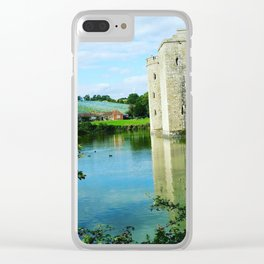 Castle and it's Moat Clear iPhone Case