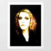 stevie nicks Art Prints featuring Stevie Nicks - Dreams - Pop Art by William Cuccio aka WCSmack