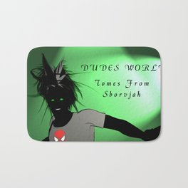 Dudes World: Tomes from Sborvjah Bath Mat