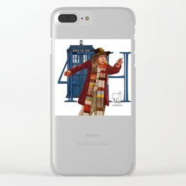 4th Doctor Clear iPhone Case
