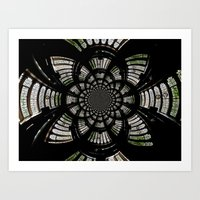 fractal Art Prints featuring Fractal by Aaron Carberry
