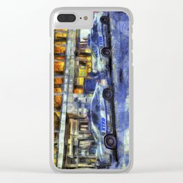 New York police Department Van Gogh Clear iPhone Case