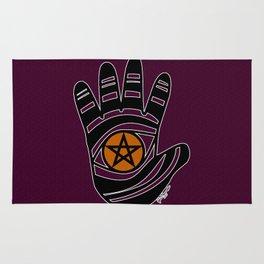 Pentacle Hand Rug