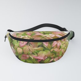 Leaves and Dew Fanny Pack