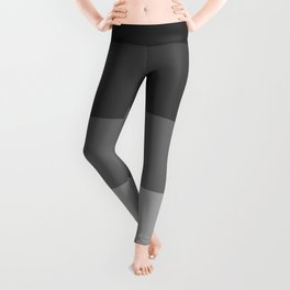 Soft Gray Stripes in Perfect Balance Leggings