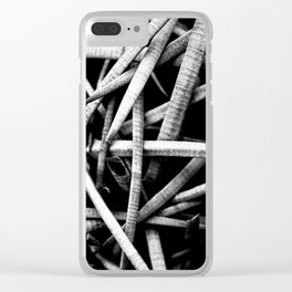 Look, But Don't Touch. Clear iPhone Case