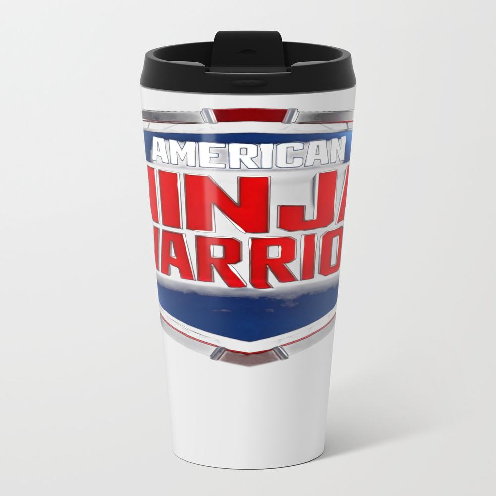 American Ninja Warrior Metal Travel Mug by Thadesign MTM8922198